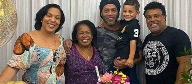 Mãe de Ronaldinho Gaúcho morre aos 71 anos